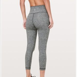 Lululemon Wunder Under High Rise Tight 25""